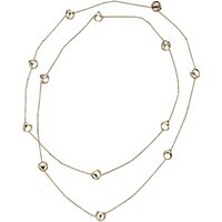 shop for Di Modolo Icona 18ct Yellow Gold 42 Inch Necklace at Shopo