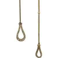 Di Modolo Fiama 18ct Yellow Gold 0.50cttw Diamond Set Necklace