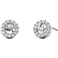 shop for Michael Kors Logo Sterling Silver Stud Earrings at Shopo