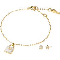 shop for Michael Kors Kors Colour Gold Plated Mother Of Pearl Set at Shopo