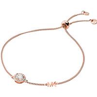 shop for Michael Kors Custom Kors Rose Gold Plated Bracelet at Shopo