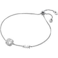 shop for Michael Kors Silver Plated Kors Brilliance Halo Bracelet at Shopo
