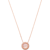 shop for Michael Kors Rose Gold Coloured Mother of Pearl Pendant at Shopo