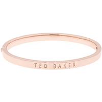 Ted Baker Clemina Rose Gold Finish Hinged Bangle