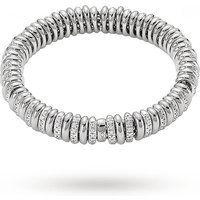 FOPE 18ct White Gold Flex'It Vendome Multi Rondel Bracelet
