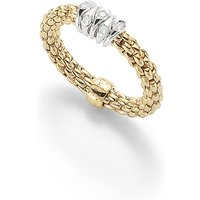 shop for Fope 18ct Yellow Gold Flex'it Prima Ring at Shopo