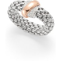 shop for Fope Flex'it Vendome White Gold Diamond - Ring Size Medium at Shopo
