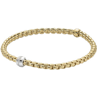 shop for Fope Flex'it Eka Tiny Diamond Bracelet at Shopo