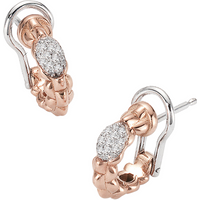 shop for Fope Flex'it Eka Tiny Diamond Earrings at Shopo