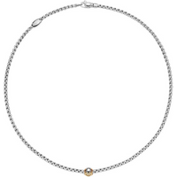 shop for Fope 18ct White Gold Eka Tiny Necklace at Shopo