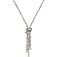 Fope Solo MiaLuce 18ct White Gold Necklace