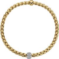 Fope 18ct Rose and White Gold EKA Tiny Bracelet