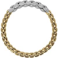 Fope 18ct Yellow and White Gold Eka MiaLuce Bracelet