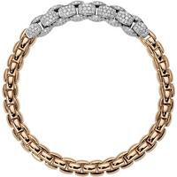 Fope 18ct Rose and White Gold Eka MiaLuce Bracelet