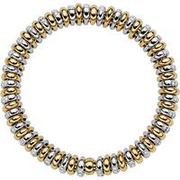 Fope 18ct Yellow and White Gold Diamond Vendome Bracelet