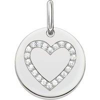 shop for Thomas Sabo Ladies Love Bridge 925 Sterling Silver Pendant Lbpe0005-051-14 at Shopo