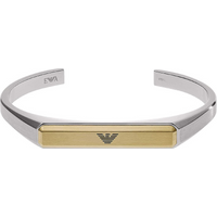 shop for Emporio Armani Stainless Steel With Gold Colour Mens Bangle at Shopo