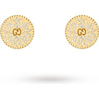shop for Gucci Icon Stud Earrings in 18ct Yellow Gold at Shopo