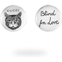 Gucci Blind For Love Circle Earrings