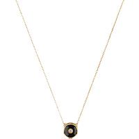 Gucci 18ct Yellow Gold Onyx & Diamond Feline Necklace