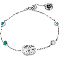 shop for Gucci GG Marmont Flower Bracelet at Shopo