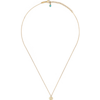 shop for Exclusive Gucci Running G Blue Topaz Necklace at Shopo