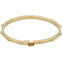shop for Gucci GG Running 18ct Yellow Gold 0.36ct Diamond Bangle at Shopo