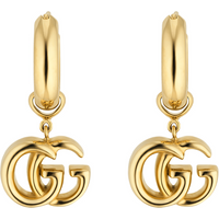 shop for Gucci GG Running 18ct Yellow Gold Earrings at Shopo