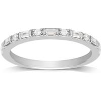 shop for Jenny Packham 18ct White Gold 0.20ct Diamond Ring - Ring Size I at Shopo