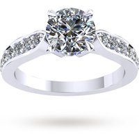 shop for Mappin & Webb Boscobel Engagement Ring With Diamond Band ... at Shopo