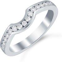 shop for Mappin & Webb Platinum 0.32cttw Diamond Belvedere Wedding Ring at Shopo