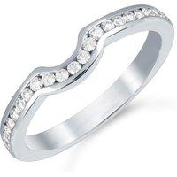 shop for Mappin & Webb Platinum 0.24cttw Diamond Belvedere Wedding Ring at Shopo