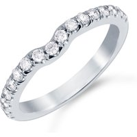 shop for Mappin & Webb Platinum 0.31cttw Diamond Hermione Wedding Ring at Shopo