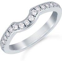 shop for Mappin & Webb Platinum 0.29cttw Diamond Boscobel Wedding Ring at Shopo