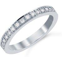 shop for Mappin & Webb Platinum 0.19cttw Diamond Boscobel Wedding Ring at Shopo