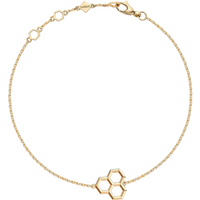 shop for Birks Bee Chic Yellow Gold Hexagons Bracelet at Shopo