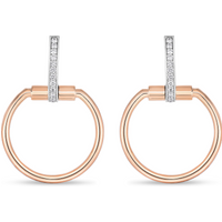 shop for Exclusive Roberto Coin Classique Parisienne Diamond Earrings at Shopo