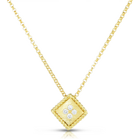 shop for Roberto Coin Palazzo Ducale 18ct Yellow Gold Diamond Pendant at Shopo
