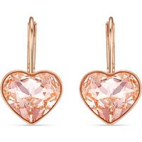 SWAROVSKI Bella Heart Rose Gold Plated Earrings