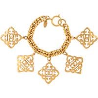 Exclusive Susan Caplan Vintage Chanel Medallion Charm Bracelet