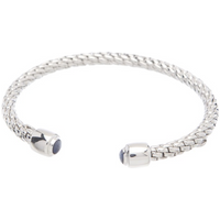 shop for FOPE Silverfope Eyes Sapphire Bangle at Shopo