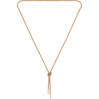 BOSS Rosette Rose Gold Coloured Necklace