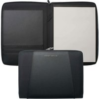 Hugo Boss Pens Keystone Black A4 Conference Folder