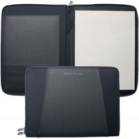 Hugo Boss Pens Keystone Blue A4 Conference Folder