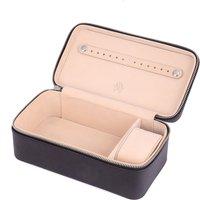 Black Leather Jewellery Case