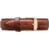 shop for Daniel Wellington Brown Leather Replacement Strap 0707DW at Shopo