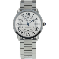 Pre-Owned Cartier Ronde Solo De Mens Watch W6701011/ 3802