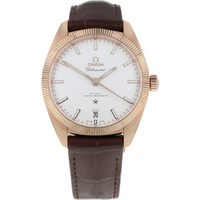 Pre-Owned Omega Constellation Globemaster Mens Watch 130.53.39.21.02.001.