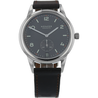 Pre-Owned Nomos Club Automat Datum Dunkel Mens Watch 774