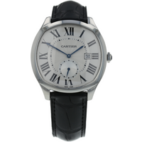 Pre-Owned Cartier Drive De Mens Watch WSNM0004/3930